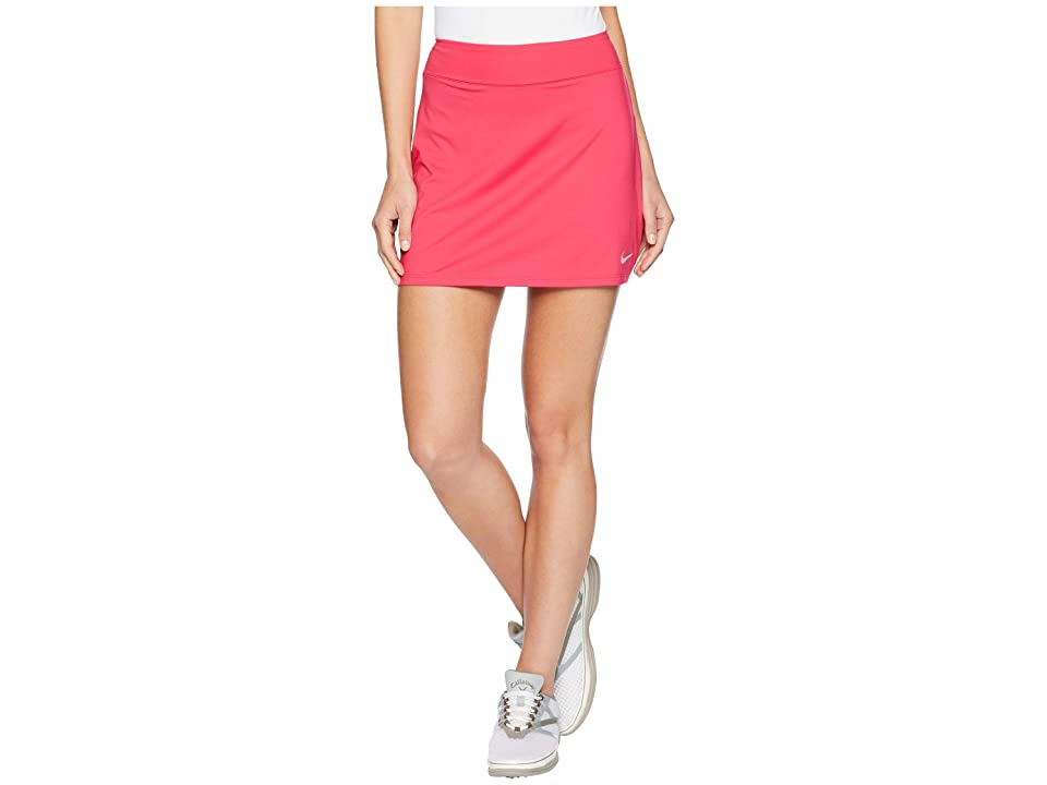 Nike Golf Dry Skort Knit 15 (Rush Pink/Flint Silver) Women
