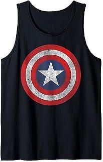 Marvel Captain America Classic Shield Débardeur