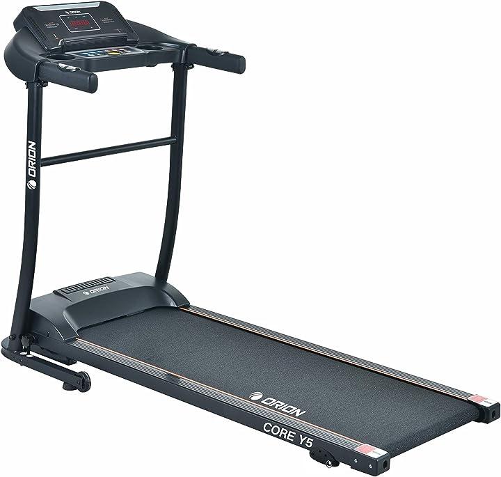 orion fitness tapis roulant elettrico pieghevole orion core y5 mp3 computer a led bluetooth altoparlanti integrati