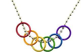 Best rainbow rings necklace Reviews
