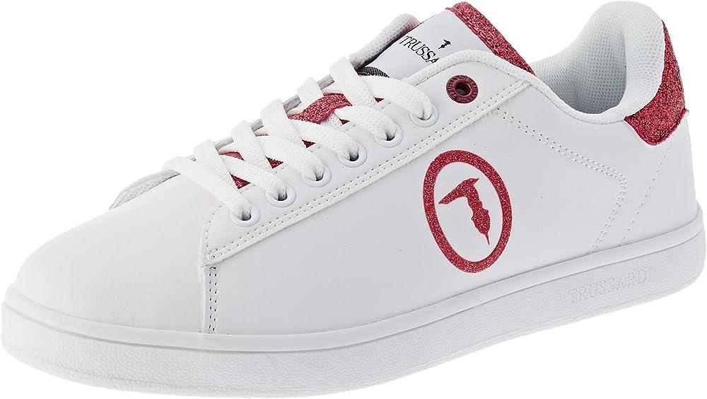 Trussardi jeans,scarpe da ginnastica donna,sneakers,in similpelle 79A005659Y099999