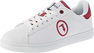 Trussardi Jeans Galium Glit Pu/Logo Gli, Scarpe da Ginnastica Donna