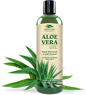 aloe vera gel hair oil