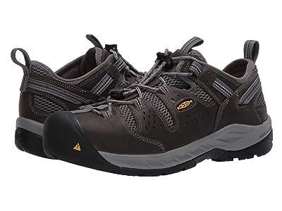 Keen Utility Atlanta Cool II ESD (Steel Toe) (Gargoyle/Midnight Navy) Men