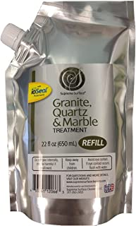 Supreme Surface Granite, Quartz & Marble Treatment (22 fl oz Refill Buddy)