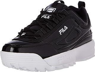 FILA Unisex Disruptor F Kids Sneakers voor kinderen, zwart, 30 EU
