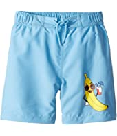 mini rodini - Banana Swimshorts (Infant/Toddler/Little Kids/Big Kids)