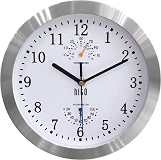 Amazon Com Wall Clocks Large Size Wall Clocks Clocks Home Kitchen