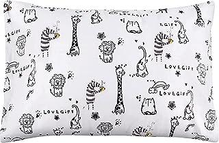 بالش کودک نو پا Aisawate - بالش کودک نخی ارگانیک نرم 18 برای خواب - بالش کوچک تختخواب بچه ها - قابل شستشو و ضد حساسیت - مناسب برای سفر ، تخت کودک نوپا ، ست تختخواب