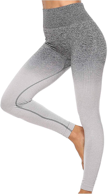 Yoga Pants for Women,Leggings for Women High Waist Yoga Pants Stretch Yoga Leggings Active Pants for Fitness Gym Sports