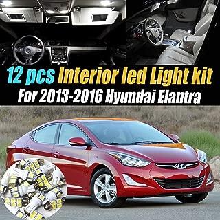 Best 2017 hyundai elantra interior light kit Reviews