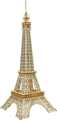 Precio al por mayor y calidad confiable. SXA 3D Rompecabezas de Madera Modelo Auto-Montaje Juguetes Juguetes Juguetes educativos Torre Eiffel decoración de Escritorio Vacaciones Regaño de cumpleaños para niñas Niños Adultos  sorteos de estadio