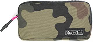 Muc-Off Essentials Case - Tough 900D Polyester Camo Fabric Storage Pouch with Zip - Ideal for Storing Spare Inner Tubes, T...
