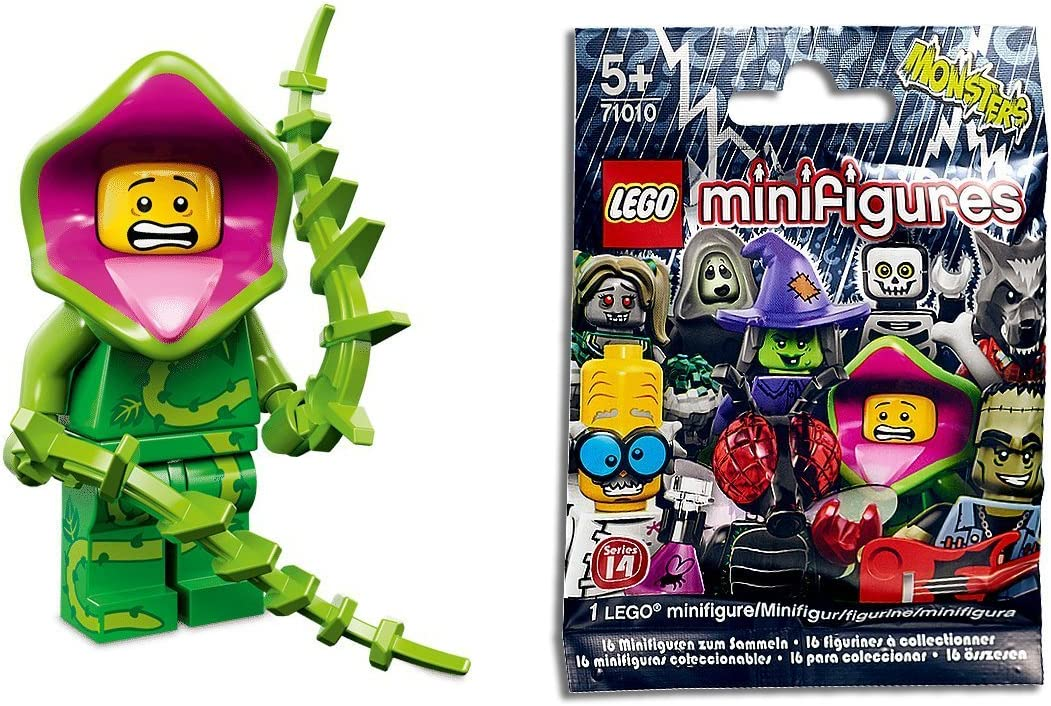 Lego Minifigures Challenge the lowest price of Japan Series 14 : Guy Plant Max 48% OFF Monster Loose x1