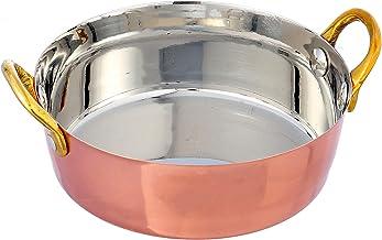 Raj Copper Serving Dish, RSD001