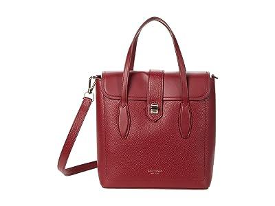 Kate Spade New York Essential Medium North/South Tote (Pinot Noir) Tote Handbags