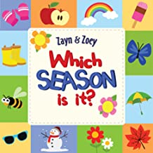 Zayn and Zoey - Which Season Is It? - Board Book - Educational Story Book for Kids - Children's Early Learning Picture Boo...