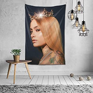 DonaldAPowell Kehlani Tapestry Wall Hanging Bedding Tapestry 3D Printed Art Tapestry Home Decor Tapestry Size: 60X51 Inch
