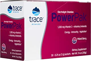 Trace Minerals Research ESPP18 - Electrolyte Stamina Power Pack, 0.6 lb (Mixed Berry)