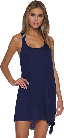 Breezy Basics Knot Side Tie Dress Cover-Up