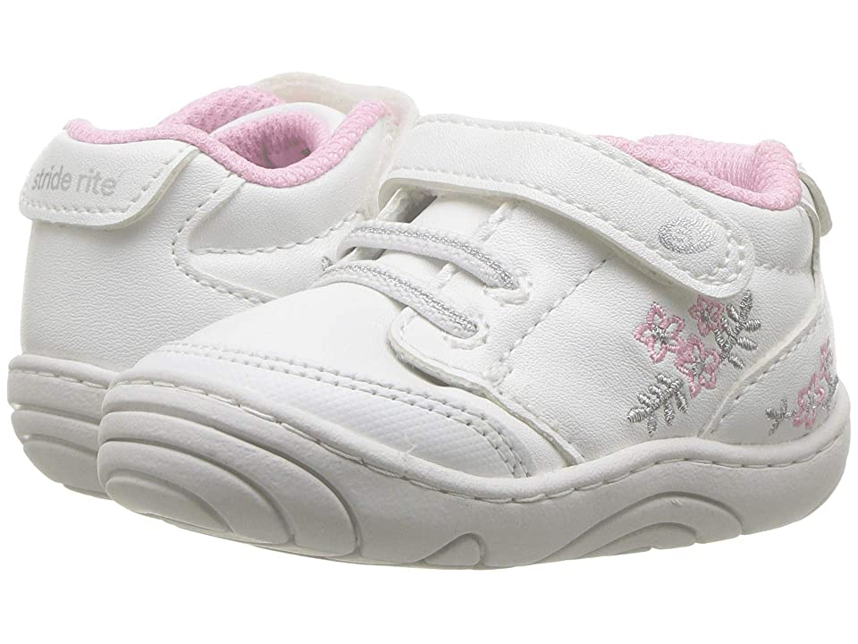 Stride Rite Taye (Infant/Toddler) (White/Pink) Kid