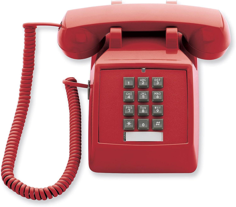 Cetis Scitec 2510E Red Single Line Emergency Desk Phone (SCI-25003)