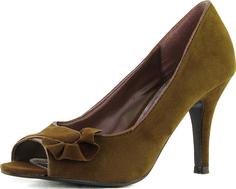 Quipid Woherrar hög klack klack klack Peep Toe Pump Office Lady Work Intervview Sexy Sandal Mode skor  ärlig service
