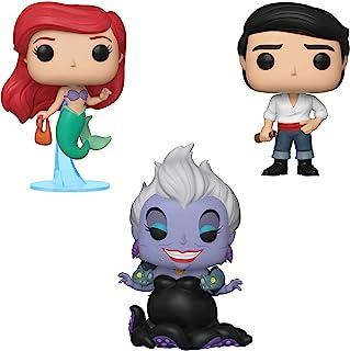 Funko Disney: Pop! Little Mermaid Collectors Set - Ariel with Bag, Ursula with Eels, Prince Eric