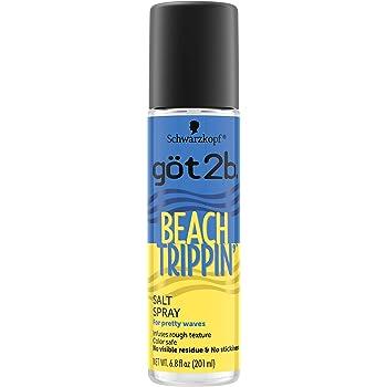 Got2b Beach Trippin' Salt Spray, Hair Spray, 6.8 Fl Oz