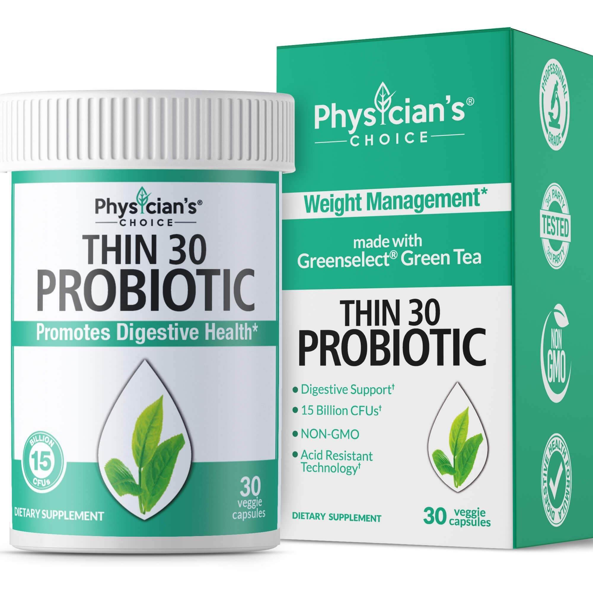 Probiotics Women Clinically Greenselect Prebiotics