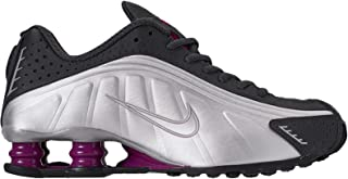 Womens Shox R4 Leather Trainers