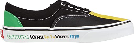 (Vans Spirit) Multi/True White