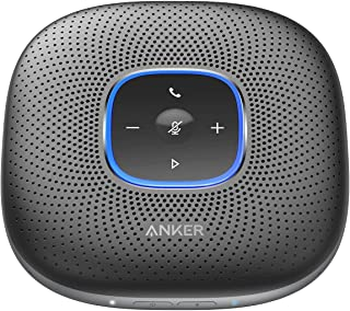 Anker PowerConf Bluetooth Speakerphone, 6 Mics, Enhanced Voice Pickup, 24H Call Time, Bluetooth 5, USB C, Zoom Certified B...