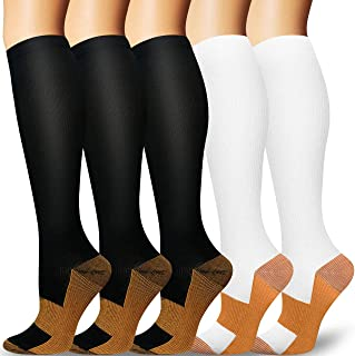 Compression Socks Women & Men 20-30mmHg - Best Support for Running,Sports,Hiking,Flight Travel,Circulation