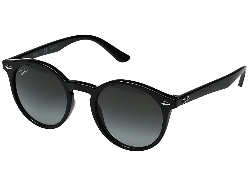 Ray-Ban Junior RJ9064S 44mm (Youth) (Black/Grey Gradient) Fashion Sunglasses