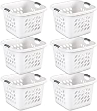 black square laundry basket