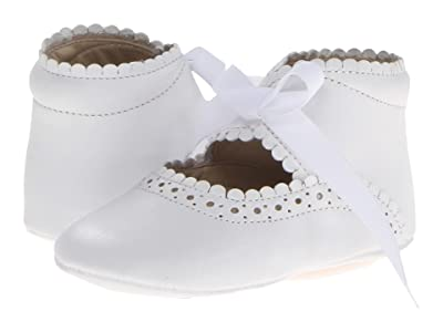 Elephantito Sabrinas (Infant/Toddler) (White) Girls Shoes