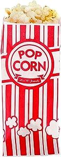 Popcorn Bags - 1oz Classic Red & White Stripes (1000)