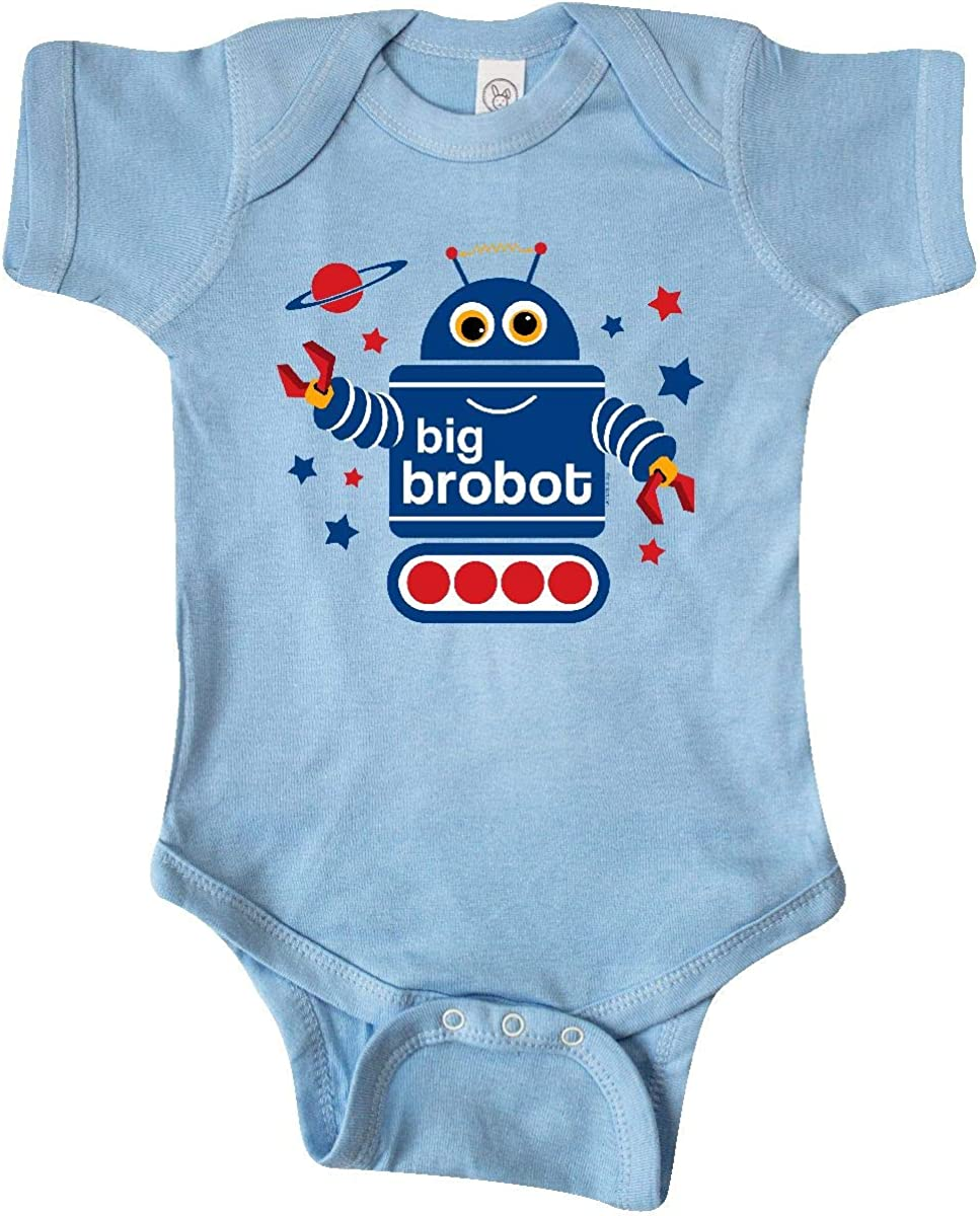 inktastic Max 49% OFF Robot Brother Infant Over item handling ☆ Creeper