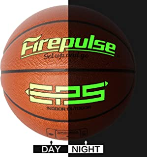 EPS Basketball/Official Size 7(29.5'')/Indoor&Outdoor Composite Leather Game Basketballs with Free Air Pump,Needles,Basketball Carry Bag