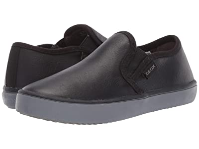 Geox Kids Jr Kilwi 33 (Little Kid) (Black Oxford) Boys Shoes