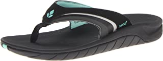 Womens Sandals Slap 3 | Athletic Sports Flip Flops For Women With Soft Cushion Footbed | Waterproof