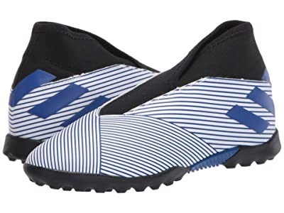 adidas Kids Nemeziz 19.3 LL TF J (Little Kid/Big Kid) (White/Team Royal) Kids Shoes