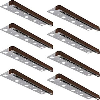 LEONLITE 8-Pack 12 Inch LED Hardscape Paver Light, 3W Low Voltage Deck Step Light, Outdoor IP65 Waterproof, Soft White 2700K, Clear Lens Garden Pathway Light, 40,000 Hours Lifespan
