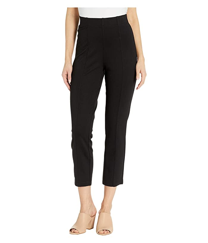 Jag Jeans Lizzy Pull-On Ponte Capris (Black) Women