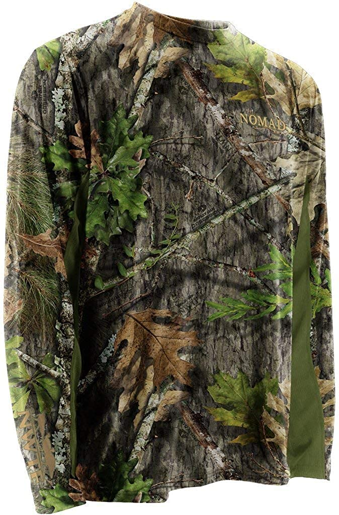 Nomad Men's Nwtf Long Sleeve Cooling Tee | Hunting Shirt with UPF 30+ Sun Protection