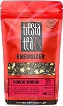 Tiesta Tea Cocoa Mocha, Tiramisu Coffee Black Tea, 30 Servings, 1.8 Ounce Pouch, High Caffeine, Loose Leaf Black Tea Energizer Blend
