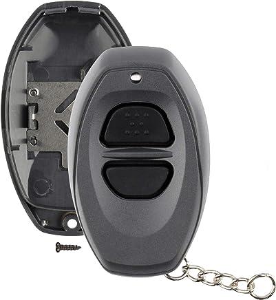 Baoblaze 2pcs High Quality Car Key Shell Fob for Toyota Avalon RAV-4 Orange and Gray Alarm Accessories