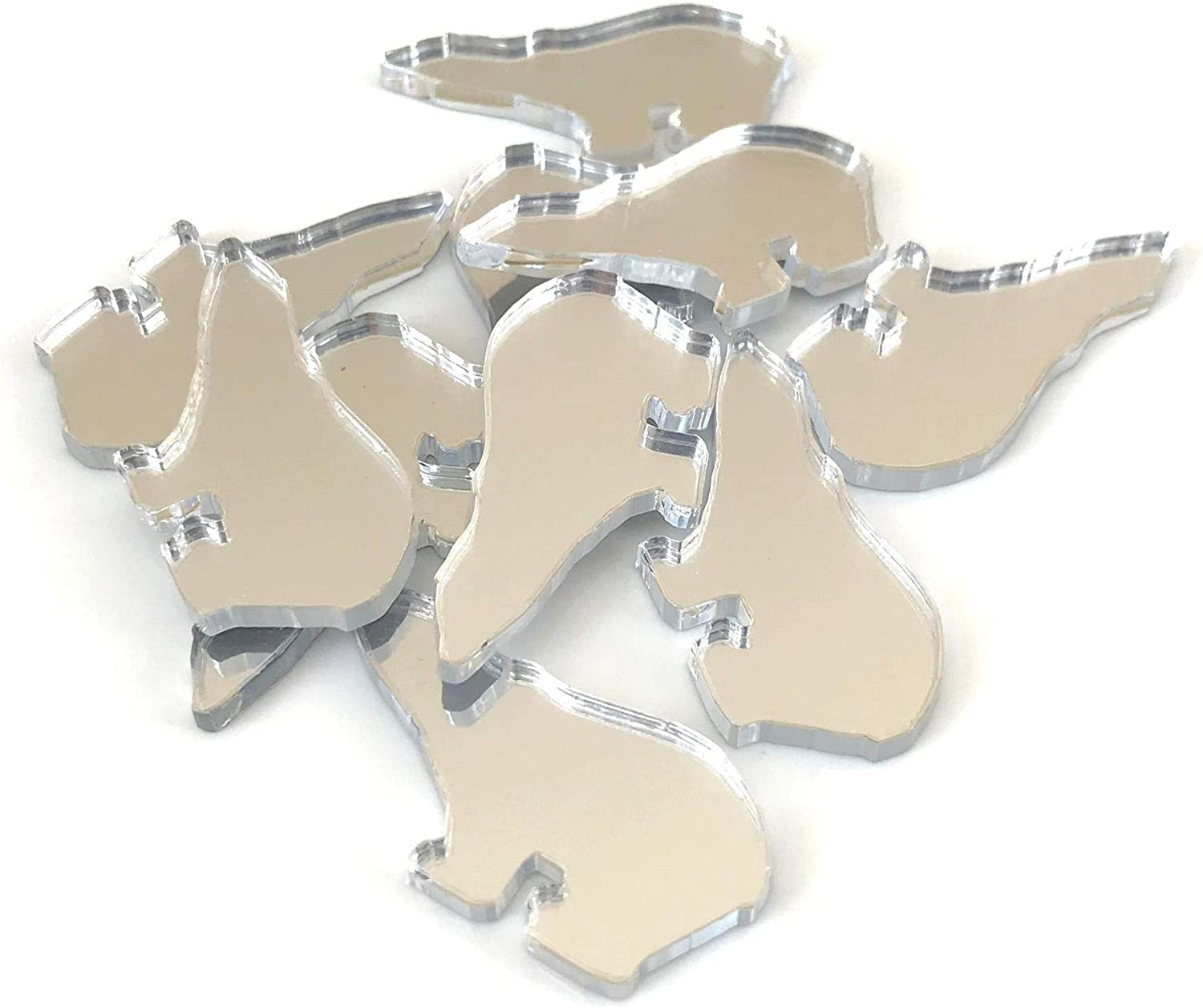 Super Cool Creations Polar Bear Mirrors Crafting Set Shaped Gorgeous Fashionable of