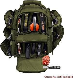 Explorer Tactical Rangemaster Gun Range Bag Backpack Deluxe Tactical Divider Gear Bag
